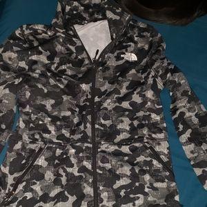 Northface zip up sweatshirt